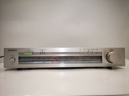 Sony ST-A30 FM Stereo/ FM AM Tuner, Working