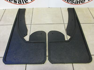 DODGE RAM FRONT Heavy Duty Rubber Mud flaps w/o Fender Flares NEW OEM MOPAR