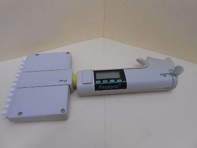 Labsystems Finnpipette 300l 12 Channel Electronic Pipette