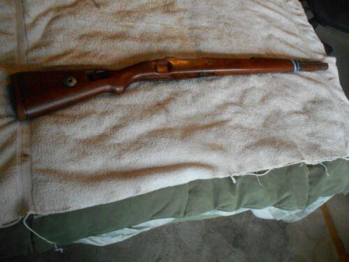 WW2 german early war K98 mauser rifle cup butt wood stock w matching handguard