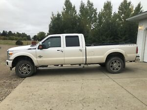 2015 F 350 Platinum Long Box