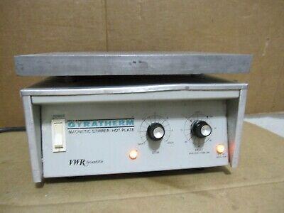 Vwr Scientific Model 58922-054 Magnetic Stirrer-hot Plate