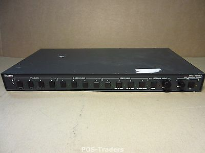 Extron MPS-112 Media Presentation Switcher VGA Audio Video Serial RS-232 VGA