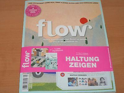 Flow Nummer 25 Zeitschrift mit allen Beilagen aus 2017 NEUWERTIG!