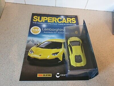 IXO / ALTAYA - 2013 LAMBORGHINI AVENTADOR - 1/43 SCALE MODEL CAR - SUPERCAR  #06