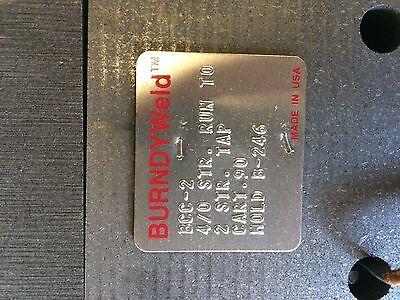 BURNDYWeld B246 and B106 Grounding Equipment