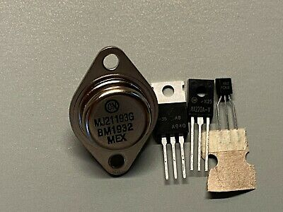 New Onsemi Transistors For Vintage Stereo Repair All The Common Ones Mix Match