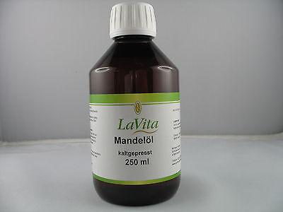 LaVita Mandelöl kaltgepresst 250ml (3,80€/100ml)