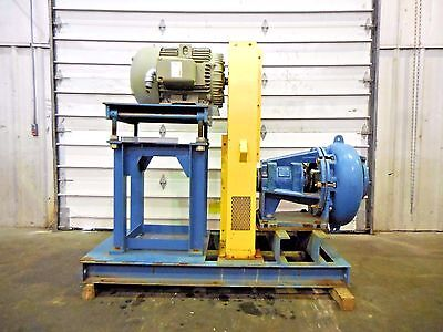 Rx-3608 Metso Mm200 Lhc-d 8 X 6 Slurry Pump W 40hp Motor And Frame