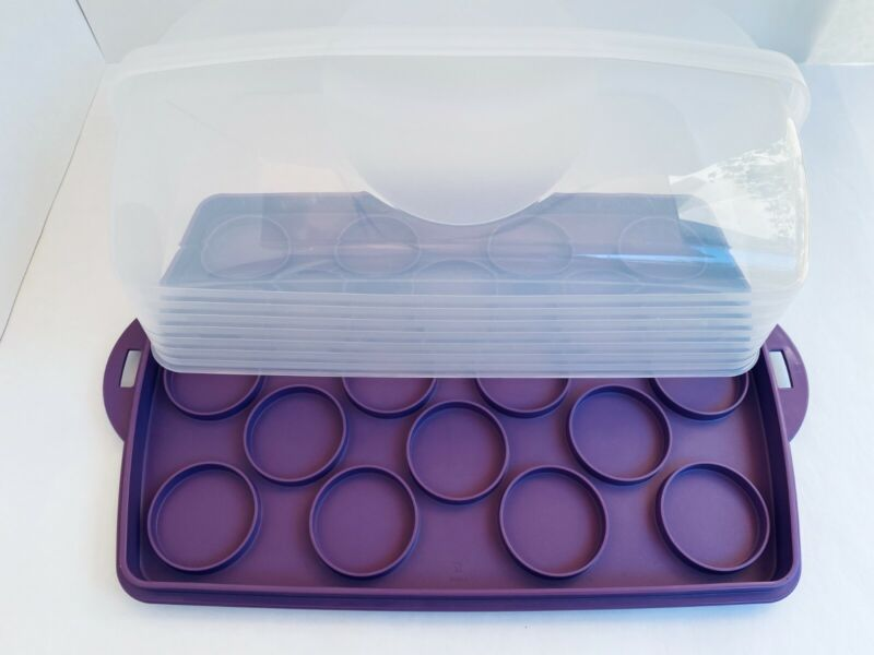 Tupperware Rectangular Cake Taker/Bake