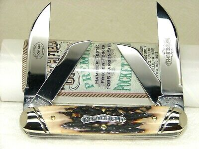 GREAT EASTERN,2011,# 530411 BIG CIGAR KNIFE, 1 of 50, SUPER STAG, NICE & MINT