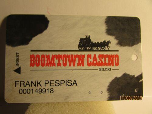 Boomtown Casino- Biloxi, M.S.- Club players card- mint