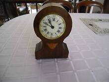 MANTLE CLOCK , SMALL , WIND UP 1940 Chirnside Park Yarra Ranges Preview