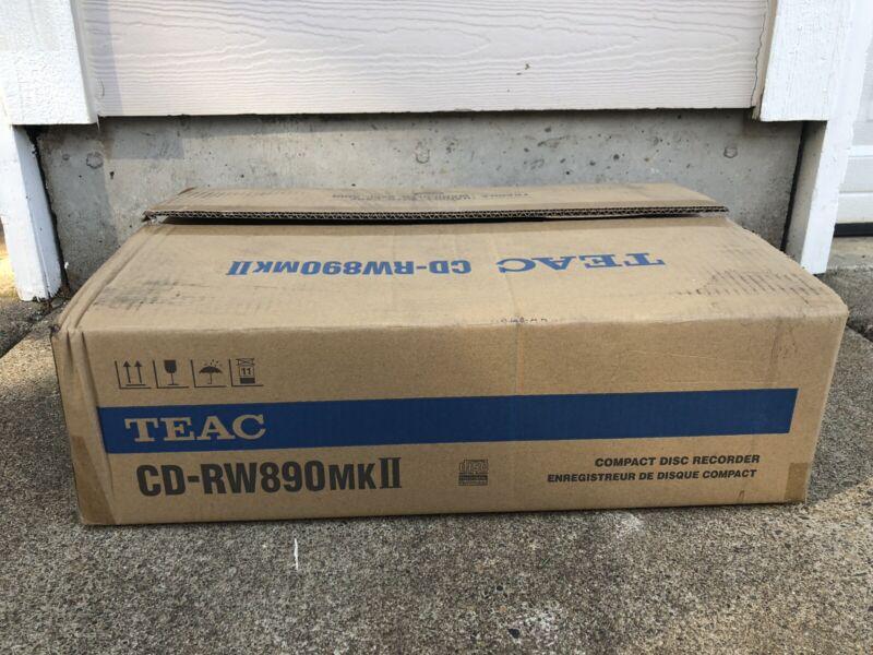 Teac CD-RW890MK2 (Black) Compact Disc Recorder