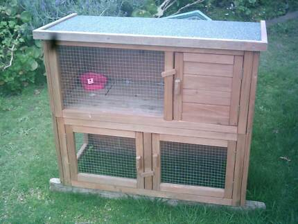 Timber Cage for Guinea Pigs or Rabbits Ringwood Maroondah Area Preview
