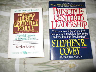 Lot2 The 7 Habits of Highly Effective People(4tape)+Principle-CenterLead(BOOK)