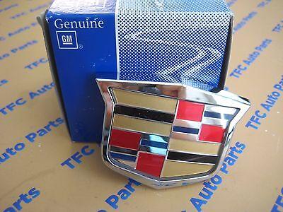 Cadillac CTS STS SRX Grille Crest Emblem Badge Genuine OEM New