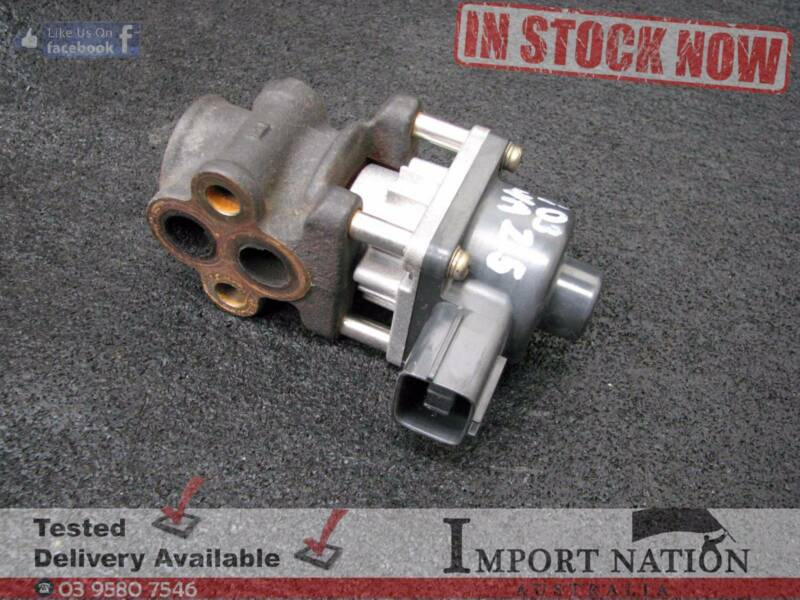 Subaru forester sg iacv idle control valve non turbo ej25 2003 1 of 4 fandeluxe Image collections