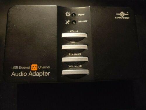 Vantec USB External 7.1 Channel Audio AdapterNBA-200U