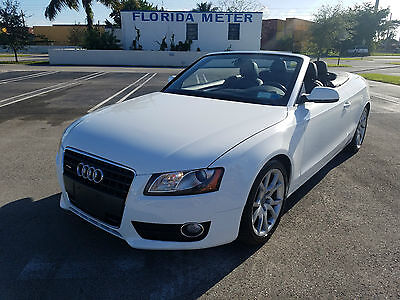 2011 Audi A5 CONVERTIBLE 2011 AUDI A5 CONVERTIBLE CABRIO LOW MILES RUNS GREAT 49K MILES MAKE AN OFFER