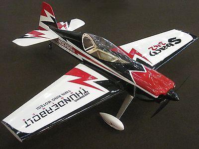 RC 1254mm SBACH 342 Kunstflugmodell 3D ARF Balsa Sperrholz Leichtbauweise