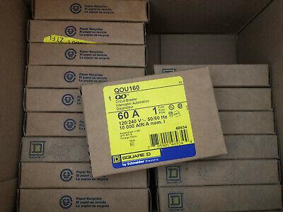 Lot Sale 16 New Square D Qou160 60a Breaker 120240v New In Box