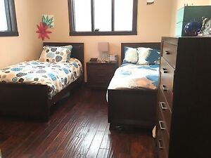 2 Twin beds with box Spring and mattress