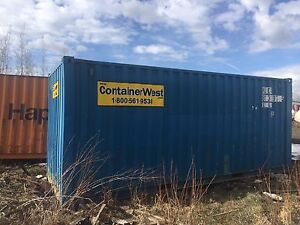 Sea-can,  containers, 20' for  sale delivery INCLUDED > Edmonton