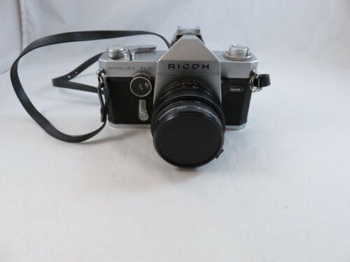 Vintage Ricoh 35mm Singlex TLC Manual Camera with Auto Rikenon 1:2 F=50mm Lens J