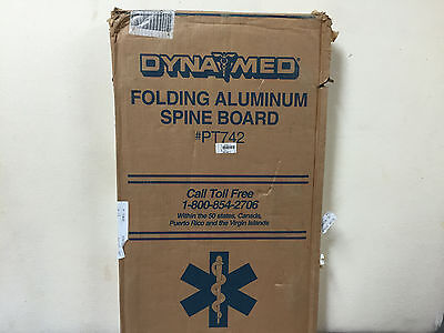 Dynamed Folding Aluminum Spine Board Ref Pt742