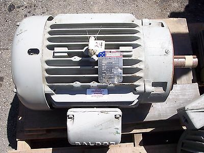 Baldor Electric High Efficiency Motor Automotive Industry 20 Hp 460 V
