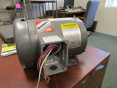 Baldor Motor M3546t 1hp 1740rpm 143t Frame 230460v 2.81.4a New Surplus