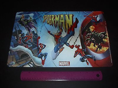 (MARVEL COMICS SPIDER-MAN VS THE GREEN GOBLIN  3-D HOLOGRAM PLACEMAT 2005)