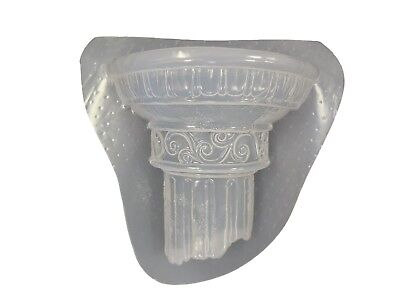 Roman Wall Shelf Plaque Plaster or Concrete Mold 7024 Moldcreations, used for sale  Shipping to India