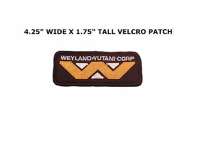 Alien Movie Weyland Yutani Corporation Logo Uniform Hook And Loop Patch