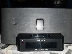 Sony Dream Machine ICF-C1iPMK2 FM/AM Alarm Clock Radio iPhone iPod Dock