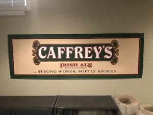 Caffrey's Beer Poster