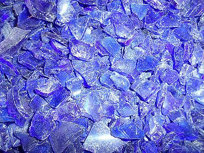 Dekoglasscherben in Blau ca.1880Gramm