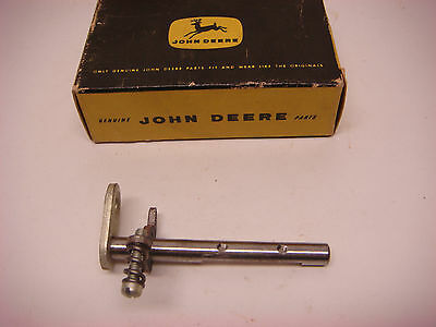 Nos John Deere Part No.at21082 Choke Shaft Jd068 Vintage Tractor Farm Equipment