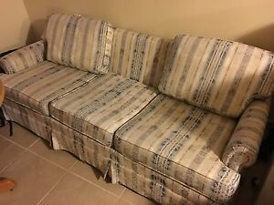Couch and Matching 2 Swivel Chairs