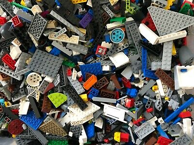 Lego Bulk 5 Lbs Mixed Building Bricks Blocks Parts Pieces (Cleaned) Random Legos