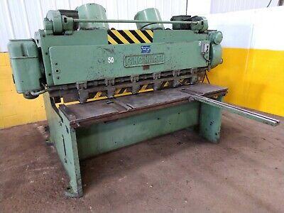 6 X 14 Cincinnati Model 1406 Mechanical Power Squaring Shear Ybm 13242