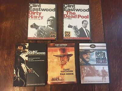 Clint Eastwood DVD Lot - Dirty Harry & Westerns - 7 Movies & Special Edition VGC