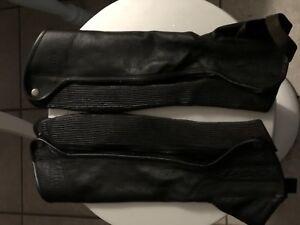 Elite Leather Riding Half Chap Ladies