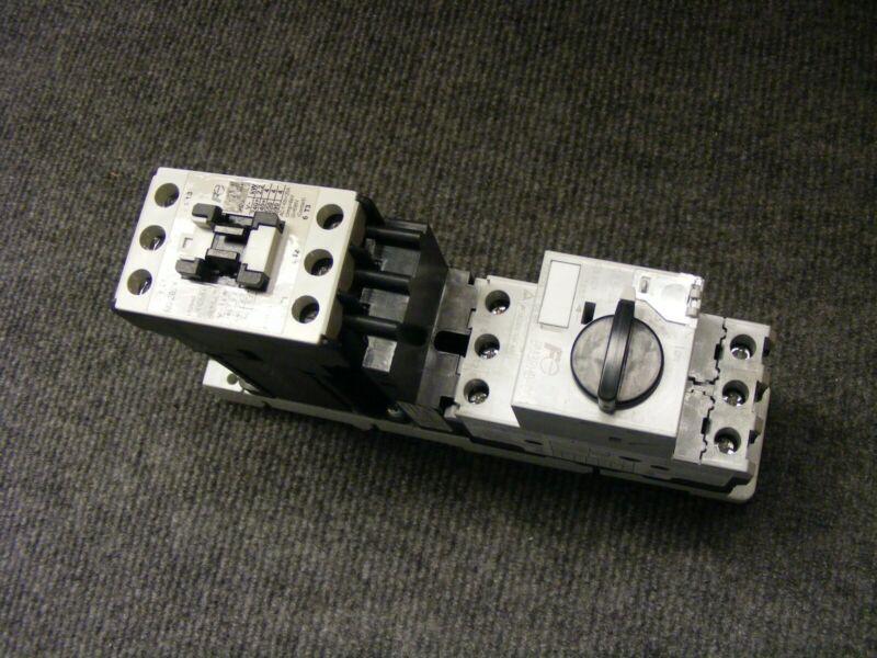Fuji Electric Duo Series Motor Start & Contactor Cat BM3RHB-004 & SC-E02/G 24VDC
