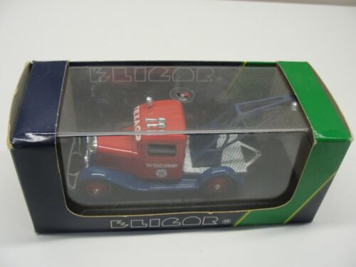 NEW ELICOR 1932 FORD V8 SERVICE TOW TRUCK TEXACO 1/43 SCALE DIE-CAST
