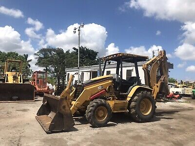 2005 Caterpillar 420d Backhoe Loader Estick
