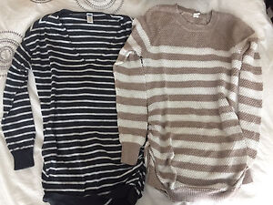 Old Navy maternity sweaters sm & xs