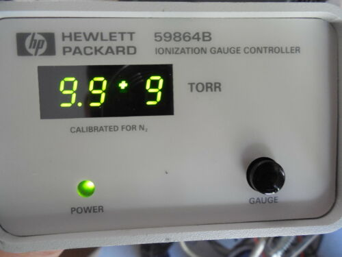 Agilent HP 59864B Ion Gauge Controller 5973 MSD Mass Selective Detector