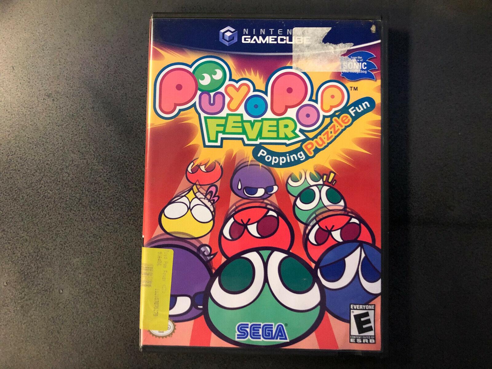 Puyo Pop Fever Nintendo GameCube, 2004 Black Label CIB RARE Tested  - $63.23
